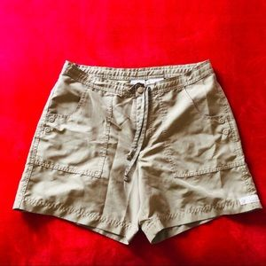 Columbia Army Green Olive Hiking Shorts